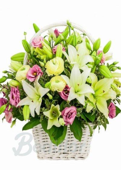Gran cesta de Flor Variada