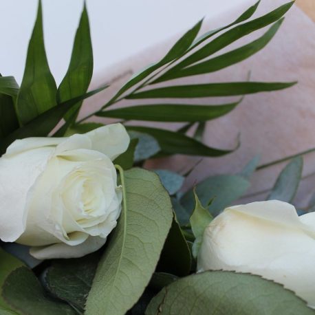 3 Rosas Blancas Ramo