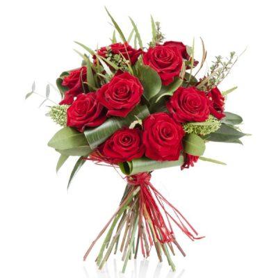 Enviar Ramo 12 Rosas Rojas Domicilio