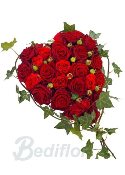 Envio Corazon Funerario Rojo Tantorio Urgente
