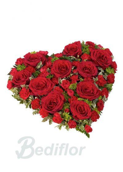 Envio Corazon Rojo Tanatorio Funerario Envio Urgente