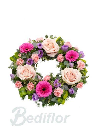 Corona Flor Variada Tanatorio Urgente