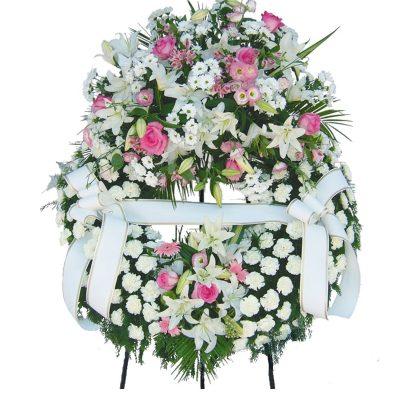 Corona Blanca Doble Cabezal Tantorio