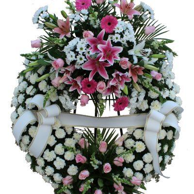 Corona Funeraria Clavel Urgente Tanatorio