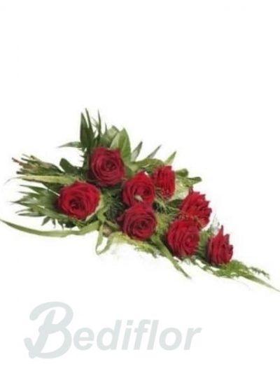 Ramo Funerario Rosas Rojas Envio Urgente Tanatorio