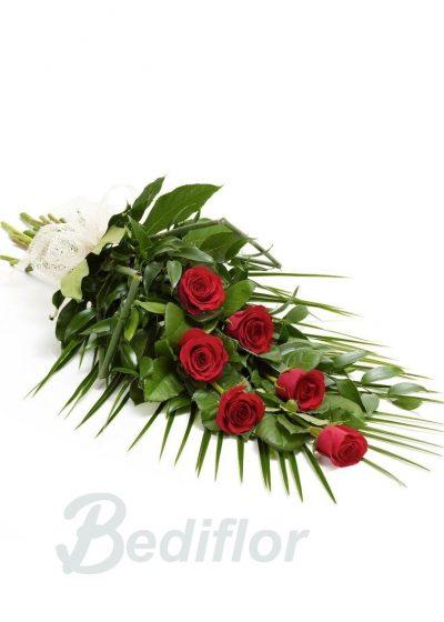 Envio Urgente Ramo Funerario Rosas Rojas Tanatorio
