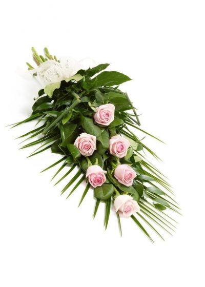 Envio Ramo Funerario Rosas Rosadas Tanatorio Envio Urgente