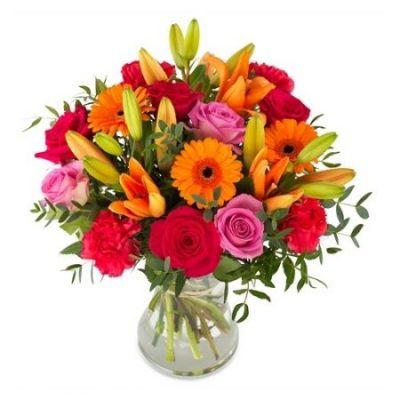 Ramo Flor Variada Regalo Colorido