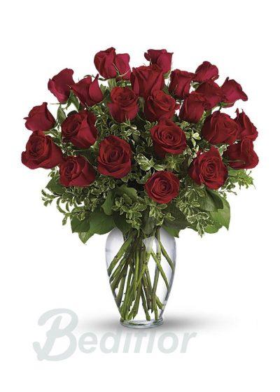 Ramo Regalo 24 Rosas Rojas Domicilio