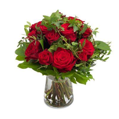 Ramo Rosas Rojas Regalo Amor Domicilio