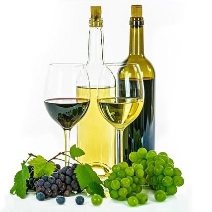 Flores Botella Vino Regalo Domicilio Complemento