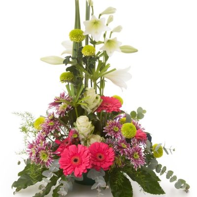 Enviar Centro Flor Variada en Altura