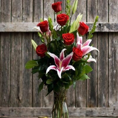 Ramo Regalo Rosas Lilium Domicilio