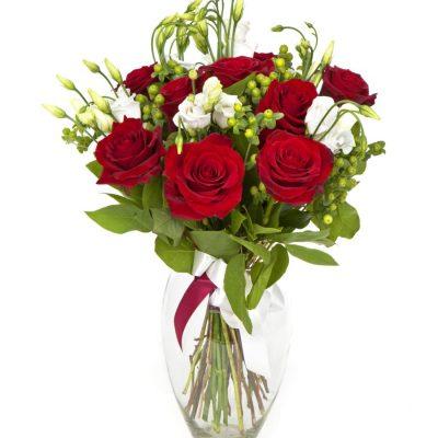 Bouquet Rosas Flores Regalo Domicilio Elegante