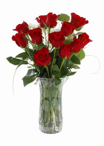 Enviar Ramo de 12 Rosas Rojas