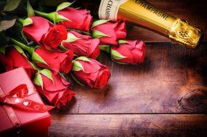 Mandar rosas San Valentín, comprar rosas San Valentín, regalar rosas champang vino bombones San Valentín, regalo San Valentín, flores San Valentín, enviar rosas Día de los Enamorados, 14 de Febrero rosas San Valentín, mandar flores, Bediflor
