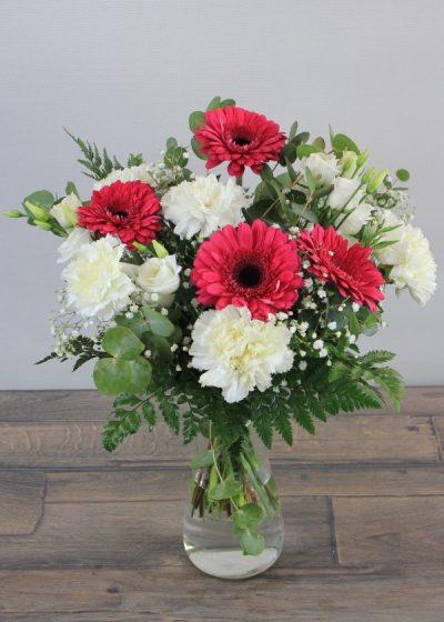 Ramo Flores en de Gerbera y Clavel